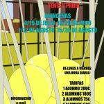 Curso intensivo de verano 2016 – Tenis y Padel